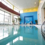 Indoor pool located on ground floor