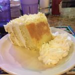 Tres leches cake at Marietta Diner. Mmmmm!!