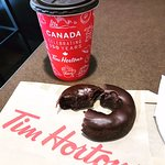 Our first Tim Hortons! (no TH in Philadelphia PA)
