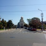 Cathedral Of Saint Alexander Nevski at the end