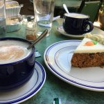 Carrot Cake and Café Aut Lait