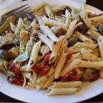 Penne with Olives and Artichokes