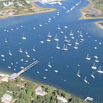 Aerial Harbor View