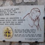 The future Pope John Paul II prayed here in 1947