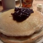 Shorty's Diner Blueberry Pancakes.