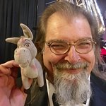 My travel buddy, Donkey, loved it. Thanx