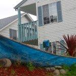 Canoe landscaping!