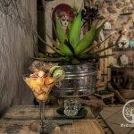 Ceviche Mezcalero con fruta de temporada