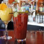 Fabulous Bloodys and Mimosas for Brunch