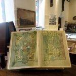 Ornate manuscript book