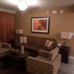 Living room (bedrrom in background)