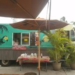 Our New Food Truck located at the Polynesian Cultural Center