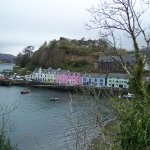 View of Portree from the front of the hotel