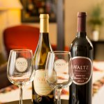 A tasting and a bottle from Waltz Vineyards are available to add to any reservation.