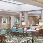 Newly renovated lobby coming July 2017