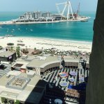 View of Dubai Eye project from the room