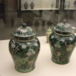 Chinese porcelain jars