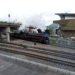 611 steam excursion arrives in Roanoke in April 2017