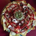 Hello, veggie nachos!