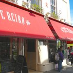 Cafe Retro frontage