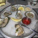 Raw oysters at Don's seafood restaurnt, Chincoteage, VA