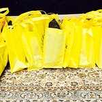Successful NYC Shopping Tour in a Sea of Yellow Bags :)