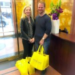 She brought her husband for her 2nd NYC Shopping Tour while visiting from Australia