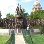 African American Memorial on Capitol Grounds