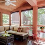 Screened in porch for dining or lounging