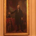 East Room, White House, Portrait of George Washington