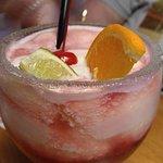 Sangria drink.