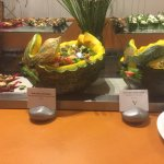 Easter decoration at buffet restaurant 2017!! Mouth dropping!