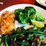 We enjoyed the quality of the food - service was great.  There should be more flexible options t