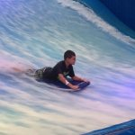 Water Park Surf Rider close up