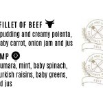 Beef and Lamb award dishes
