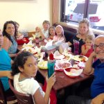 Pita Plus is Filled With Multi-Generational Families & Lots of Kids