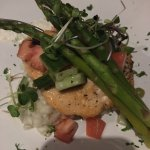 Salmon with risotto