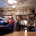 interior of the pub...
