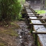 The flume to the mill