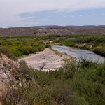 The Rio Grande from the top of the trail