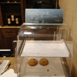 cookies at check in