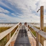 Boardwalk to the Gulf of Mexico