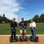 Beautiful day to Segway! Fun family trip with our oldest son!