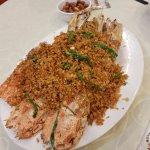 Deep Fried Big Mantis Shrimps