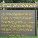 Description of the Battle of Raymond.