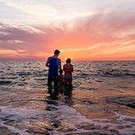 Nokomis beach at sunset!