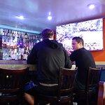 bar and TV :)
