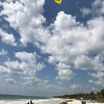 Best kitesurfing teacher in Tulum!