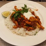 Lunch special: chicken curry