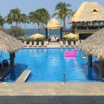 The Pink Flamingo Floaties at Playa Flamingo Resort!